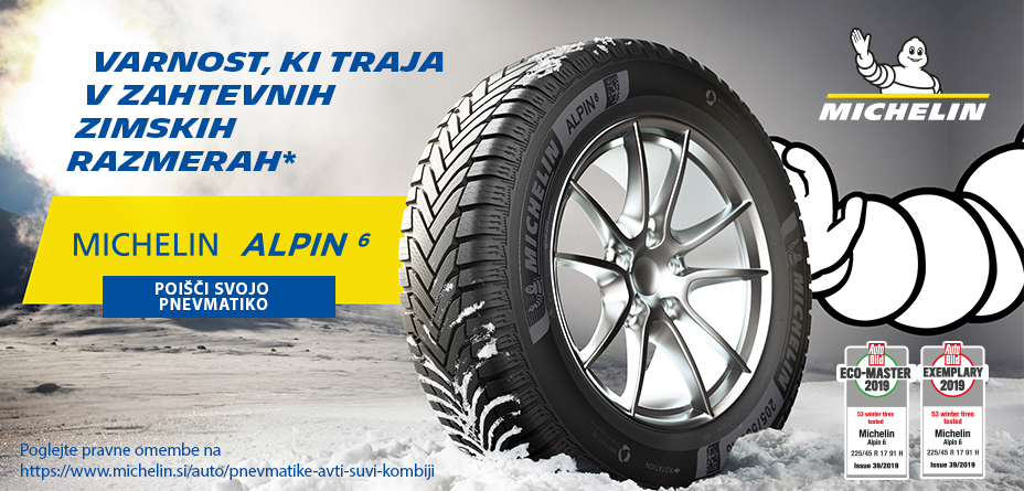 Zorman - Michelin Alpin6 awards
