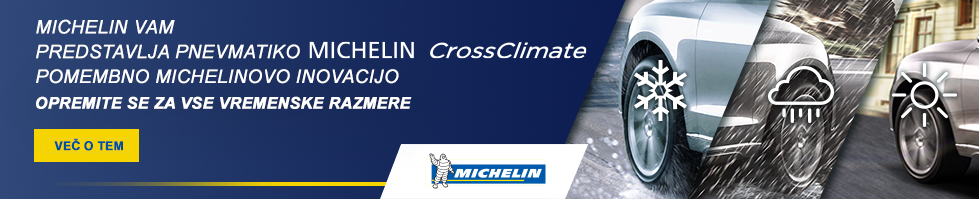 Pneumatic center Zorman Lomanoše | Test Michelin CrossClimate iz Velike Britanije